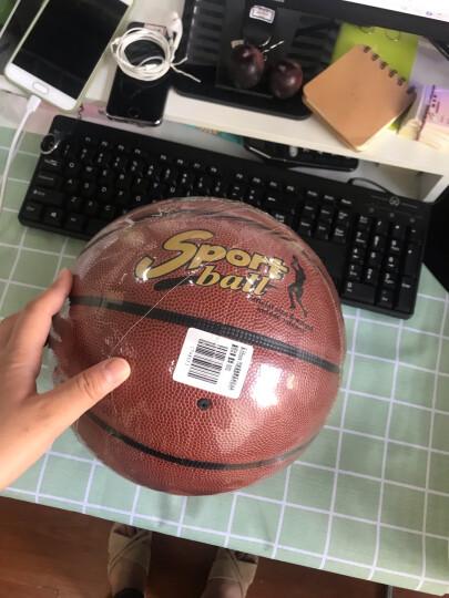 ENPEX 乐士成人儿童7号橡胶篮球室内外比赛 蓝球 B003 晒单图