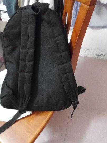 书包双肩包女校园学院风男韩版潮背包女中学生书包大容量旅行包电脑包书包 黑色 晒单图