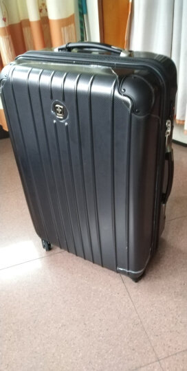 瑞动(SWISSMOBILITY)拉杆箱28英寸行李箱 洲际旅行箱轻盈大容量静音万向轮男女 5556黑色 晒单图