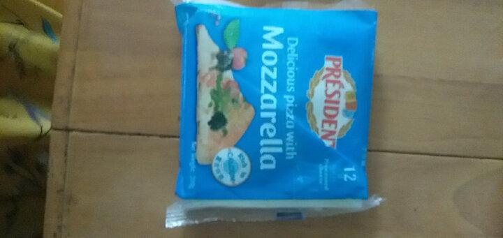 总统(President)马苏里拉匹萨奶酪片 200g(再制干酪)烘焙原料 晒单图