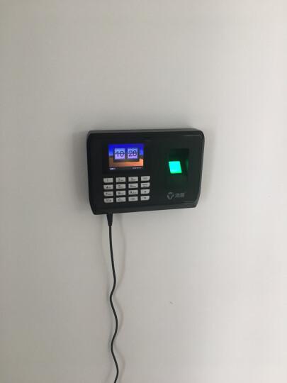 浩顺 (Hysoon)C-138TW指纹识别WIFI网络考勤机打卡机手机APP签到无线联网云管理 C138(单机使用+U盘下载+赠U盘) 晒单图