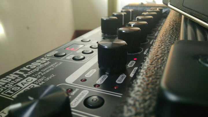 Nux多功能电吉他音箱木吉他便携式音响30瓦 带多种效果器 MIGHTY30SE黑色 晒单图