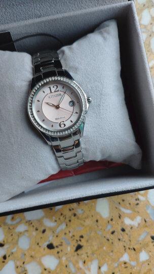 西铁城(CITIZEN)手表超级钛镀樱花粉红表带电波女表EC1145-58X 晒单图