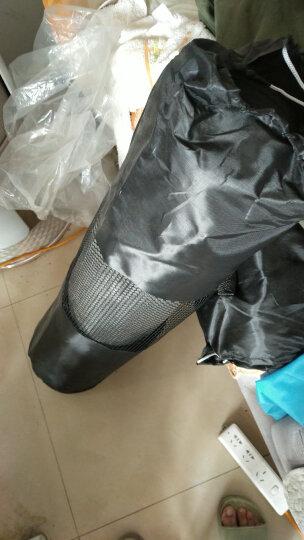 奥义 瑜伽垫 15mm加厚防滑健身垫 185*80cm(赠绑带+网包)加宽加长男女运动垫子 灰色 晒单图