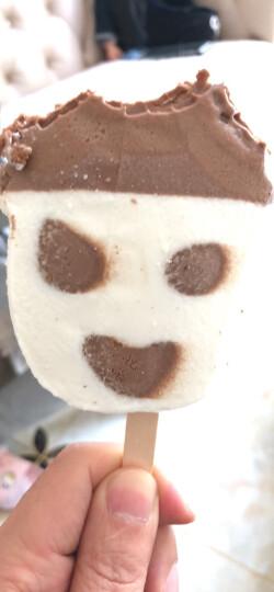 光明 新奇形娃娃冰淇淋雪糕  奶油巧克力味冰激凌冷饮 68g/支*10 晒单图