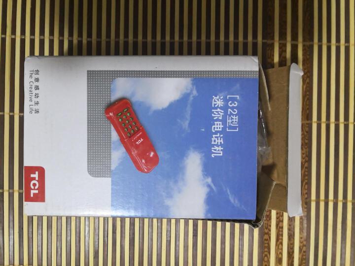TCL 查线机 电话机座机 办公家用 便携式小挂机 座式壁挂 酒店家用 HA868(32)P/T (红色) 晒单图