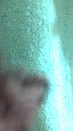 台湾进口akadama美国棉柔软纯棉吸水全棉加厚干发洗脸方巾面巾小毛巾 碧蓝 晒单图