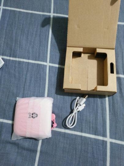 罗马仕(ROMOSS)Candy box迷你可爱布艺贴合快充充电宝10000毫安移动电源 适用于苹果华为小米粉色 晒单图