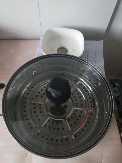 美厨(maxcook)二层蒸锅 34cm不锈钢复底双篦蒸锅 MCZ-34 蒸煮两用 可用电磁炉 晒单图