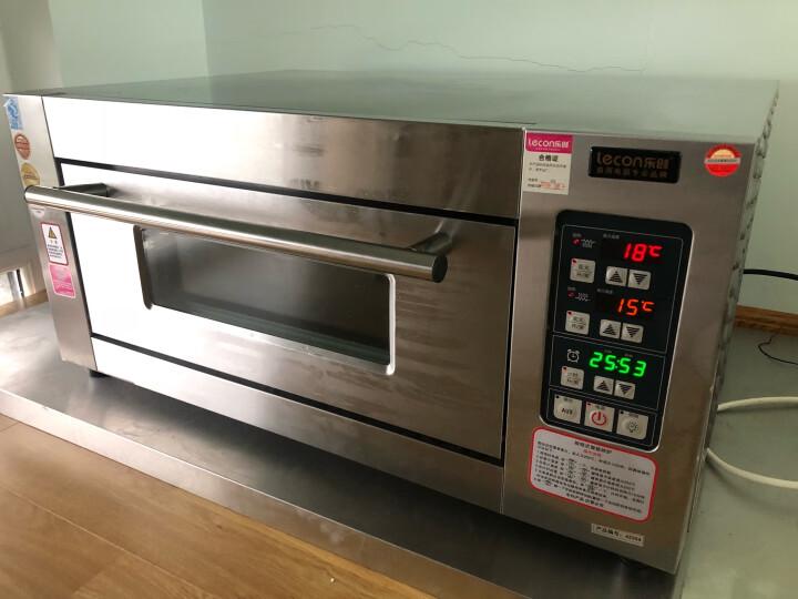 乐创(lecon) 大型披萨烤箱商用烤炉箱蛋糕面包月饼电烘烤箱机烘炉焗炉电烤箱 三层六盘电烤箱380V 晒单图