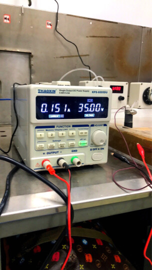 直流稳压电源 30V5A 兆信直流电源 10A 60V5A笔记本手机维修电源 可编程数控电源 KPS-6005DU 60V5A (带接口) 晒单图