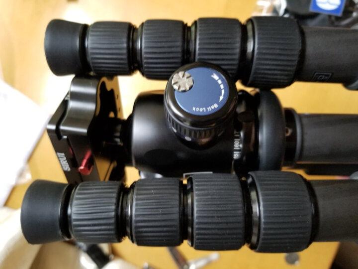 思锐(SIRUI)三脚架 E2205N+K21X 碳纤维含云台佳能尼康单反相机三角架 反折单反相机三脚架 可拆独脚架 晒单图