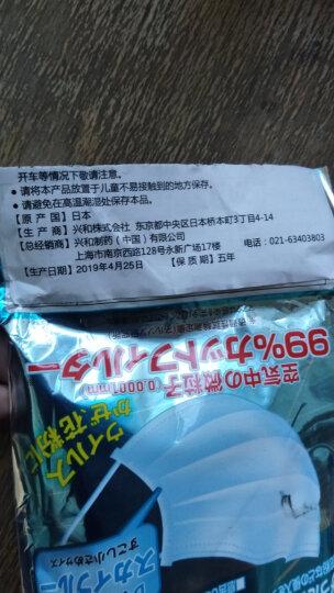 三次元 4D贴合口罩 (儿童)5片装 防PM2.5 防雾霾 一次性 轻薄 防尘口罩 晒单图