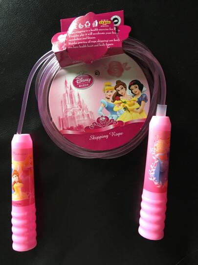 迪士尼幼儿园儿童跳绳学生跳绳米奇公主跳绳 防滑手柄小学生跳绳普通跳绳 DBA10688粉色公主 晒单图