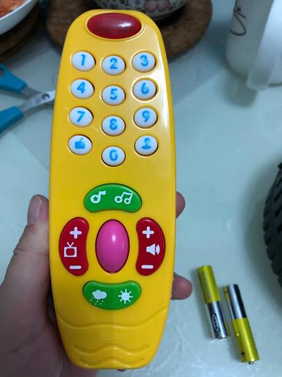 澳贝(AUBY)益智玩具宝宝学习遥控器婴幼儿童中英双语认字玩具男女孩生日礼物463479DS 晒单图
