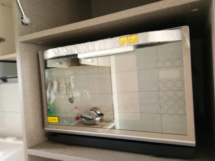 凯度(CASDON) 蒸烤箱家用台式烘培发酵解冻消毒多功能电蒸汽烤箱微波炉二合一体机专业蒸烤炉28L 台式蒸烤箱配件菜谱 晒单图