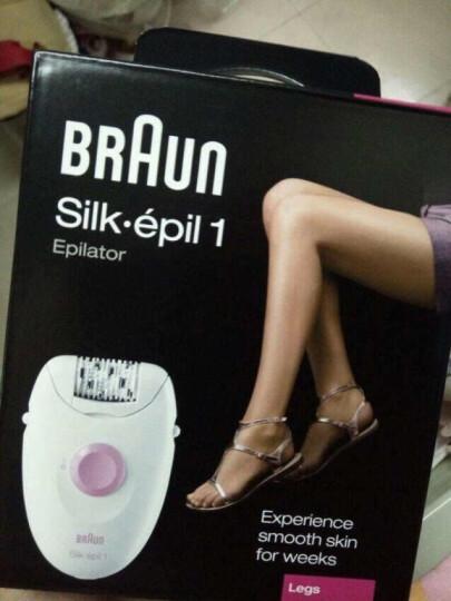 博朗(BRAUN)电动脱毛器剃毛器 女士拔毛器 腋毛腿毛私处刮毛器 SE1170 晒单图