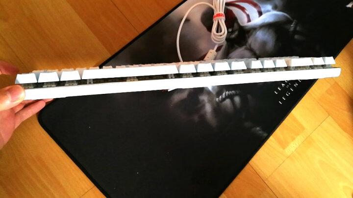 黑爵(AJAZZ) 刺客AK35i机械键盘 青轴黑轴红轴茶轴游戏键盘(男女生朋克复古PBT 全无冲) 朋克108键黑色白光(黑轴) 晒单图