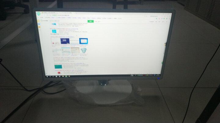 三星(SAMSUNG)23.6英寸 臻彩广视角 HDMI高清接口 不闪屏液晶电脑显示器 (S24D360HL) 晒单图