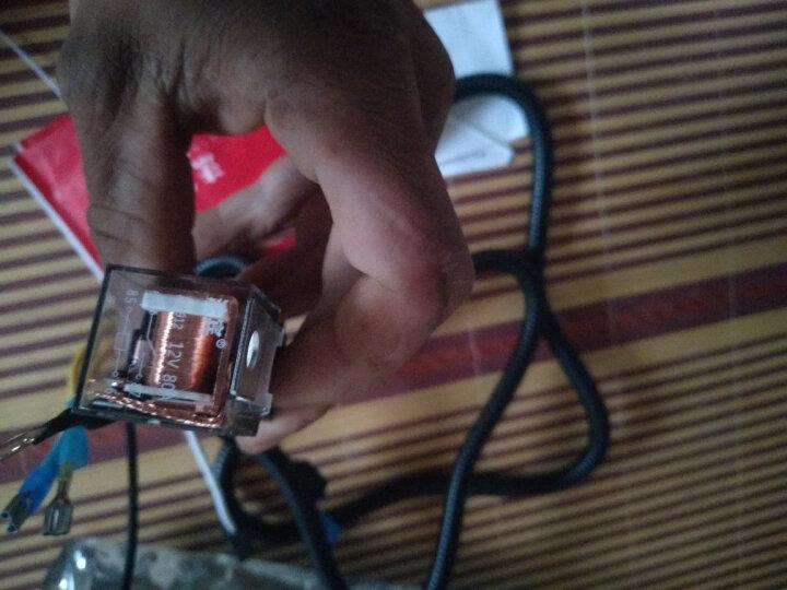 法宾改装专用继电器线束套件鸣笛喇叭改装专用线免破线无损安装方便即插即全铜线路 继电器12V4脚带插座 晒单图