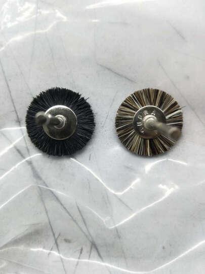 雕途(Diatools)电磨猪鬃毛刷 马毛刷打磨刷笔刷毛刷核桃玉石抛光清洁 马毛刷T形 晒单图