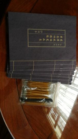 仿古蓝皮抄经本 佛教用品 佛经手抄本 佛经描红 抄经-- 药师经7本套装 晒单图