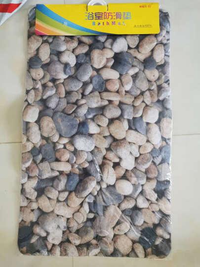 素雅特 浴室浴缸防滑地垫淋浴脚垫40*69cm 鹅卵石 晒单图