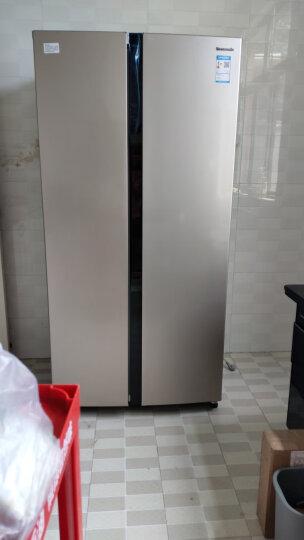 松下(Panasonic)570升对开门冰箱 磨砂金 变频风冷无霜 双循环制冷系统 银离子抗菌 NR-EW57SD1-N 晒单图
