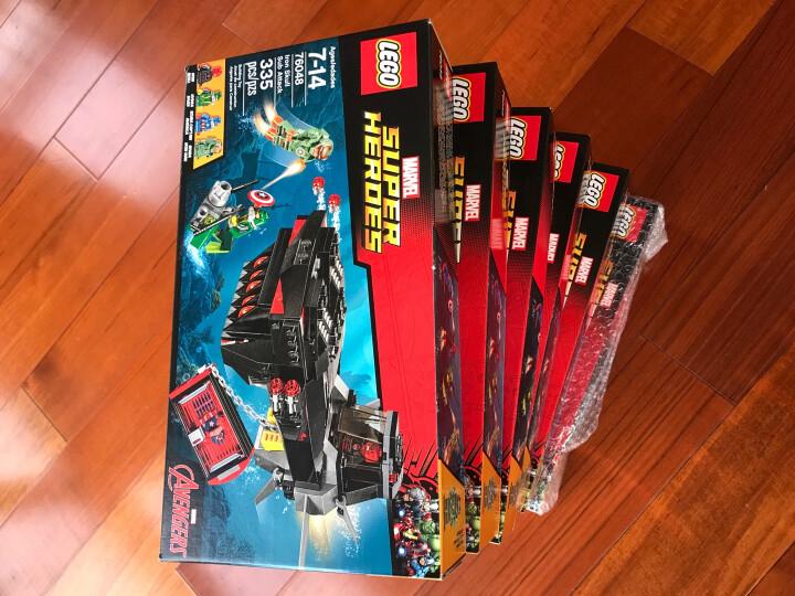 【正品乐高】乐高 LEGO 超级英雄 拼装 儿童玩具 积木拼插 礼物 76057蜘蛛侠的大桥之战 共1092颗粒 晒单图