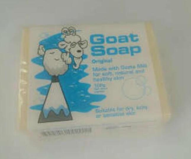 Goat Soap kids 婴幼儿手工香皂 敏感肌肤适用 山羊奶皂 澳洲进口 100g 晒单图