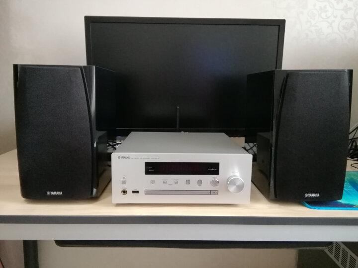雅马哈(Yamaha)MCR-N570 音响 音箱 迷你桌面 CD机 蓝牙音响 电视电脑音响 wifi网络播放机 配BP182音箱 晒单图