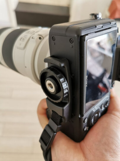 JJC 微单相机手腕带 护腕带 索尼A7M3 A6300 A7III A7R3佳能M50 200D 1500D富士XT20 XT100尼康D3400手带配件 晒单图