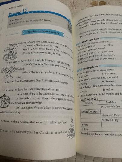 小学英语阅读拓展训练:美国小学生阅读精选(一、二年级)(赠MP3下载 二维码听读) 晒单图