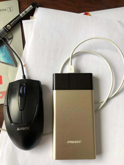 品胜10000毫安聚合物移动电源/充电宝超薄小巧便携创意 双输出 适用于iPhone11苹果/安卓/手机/平板银 晒单图