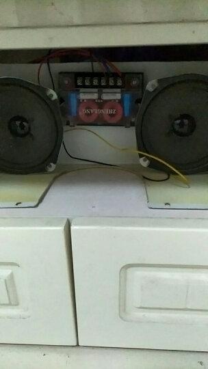 正浪汽车音响分频器大功率低音高音两分频重低音音箱改装套装喇叭三分频中音 都是一只价格 晒单图
