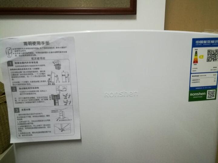 容声(Ronshen) 120升 小型迷你双门冰箱 实用双温区 节能静音 低温补偿 两门电冰箱 BCD-120D12 晒单图