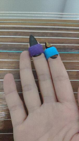 相思鸟(LOVEBIRD) 古筝指甲 成年人儿童指甲初学练习 乐器配件 双面加厚款8片装 XS1034中号 晒单图