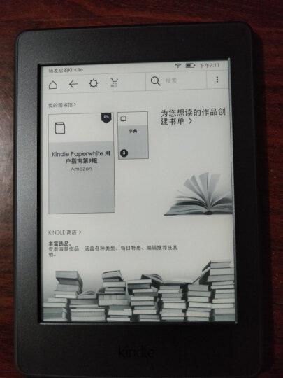 【套装】Kindle Paperwhite 6英寸电子书阅读器 黑色+柯帅保护套 晒单图