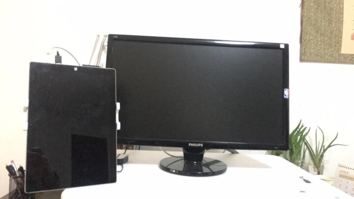PZOZ手机支架 懒人支架床头手机指环扣ipad平板电脑支架switch手机桌面夹子网红直播录像通用 大支架适合4-12.9英寸/白色 晒单图