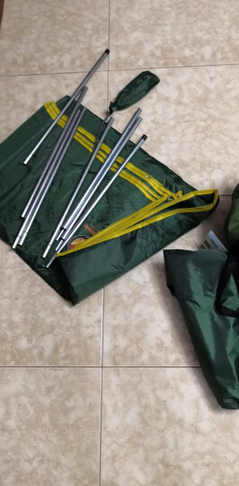 自由之舟骆驼 户外便携折叠桌椅套装野外野餐铝合金桌子烧烤桌露营展业桌 CM8801铝分体桌椅 晒单图