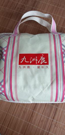 九洲鹿 毛毯 加厚云貂绒保暖毯法兰绒空调毯 水晶绒办公室午睡四季盖毯珊瑚绒毛巾被床单 1.6斤 150*200cm 晒单图
