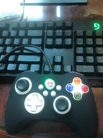北通(BETOP)BTP-2175s 阿修罗SE  PC/PS3/安卓 有线振动炫光版 游戏手柄 镜面黑 晒单图