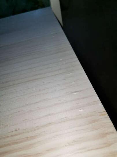美梦居 儿童学习桌 实木书桌子可升降型电脑桌 中小学生课桌套装 带凳子 可按照孩子成长调整学习写字台 升降清漆桌椅套装 80*50*75cm 晒单图
