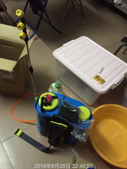 农宝 20L新款双盖加厚背负式电动喷雾器 手柄调速款 园林农用喷雾器 喷药消毒防疫 晒单图