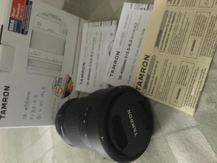腾龙(Tamron)腾龙18-400mm F3.5-6.3 VC B028单反照相机远摄长焦镜头 半画幅大变焦镜头18-400 尼康口 晒单图
