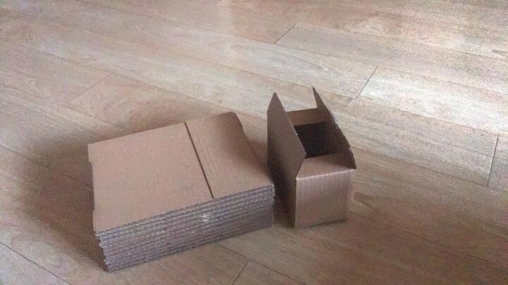 邮政纸箱5-12纸盒子快递纸箱定做包装盒物流打包搬家纸箱飞机盒包装箱快递盒子网店纸箱瓦楞纸 1号 五层 长53cm*宽29cm*高36cm 晒单图