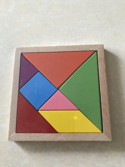 三格田(SANGTY) 传统原创木质孔明锁右脑益智力开发八卦榫卯结构鲁班解锁儿童玩具 (进口榉木)十八罗汉 晒单图