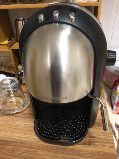 摩飞电器(Morphyrichards) MR4667 意式浓缩咖啡机 英伦红 MR4667A-不锈钢银 晒单图
