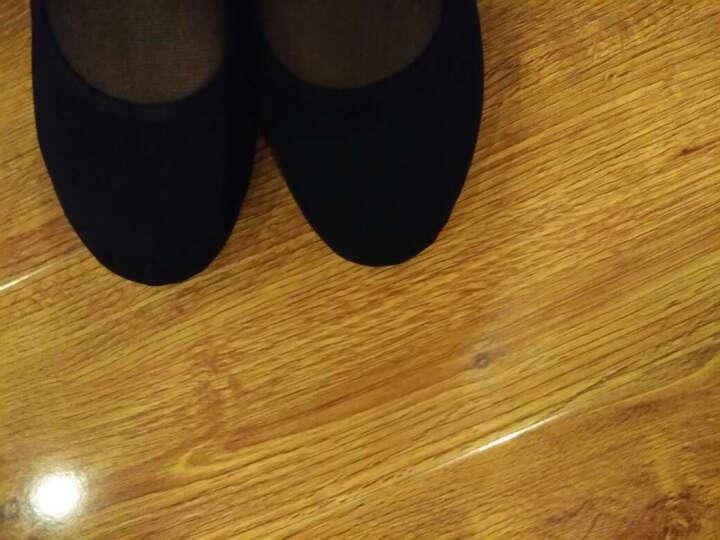 善然堂 新款广场舞鞋水兵舞鞋肚皮舞鞋中跟秋冬女式舞蹈鞋女软底跳舞鞋女鞋民族舞牛筋底教师舞蹈鞋软底 红色501*全帆布透气(尺码偏小建议拍大一码) 38 晒单图