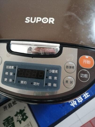 苏泊尔(SUPOR)电饭煲迷你电饭锅4L容量智能预约多功能(24小时预约) 晒单图